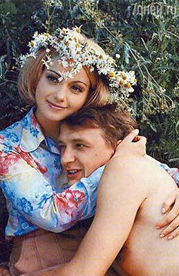 С Маратом Башаровым в фильме «Граница. Таежный роман». 2000 год