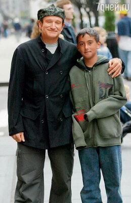 С сыном Коди. 2003 г.