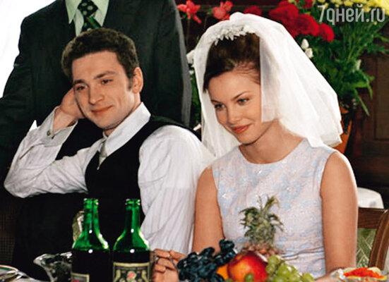 С Татьяной Арнтгольц в сериале «И все-таки я люблю...»