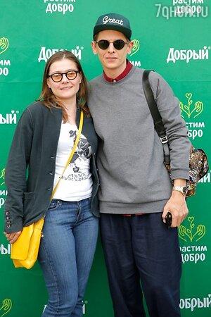 Мария Голубкина и Влад Лисовец