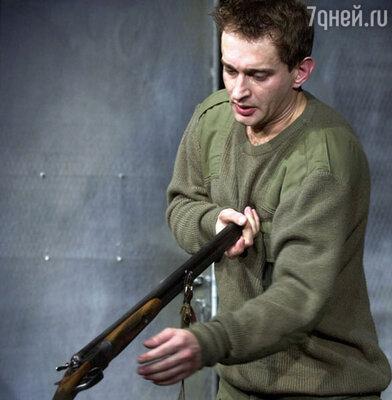 Константин  Хабенский в спектакле «Утиная охота»