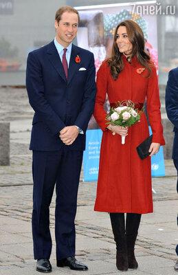 На предстоящий год у принца Уильяма и его супруги обширные планы