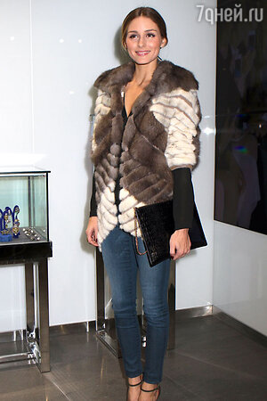 Оливия Палермо (Olivia Palermo) на открытии модного бутика в Нью-Йорке