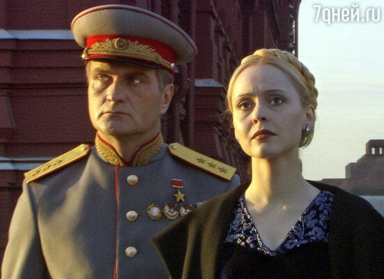Кадр из сериала «Московская сага»