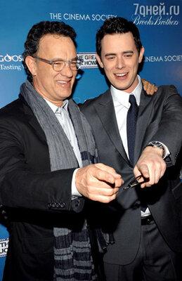 Со старшим сыном Колином