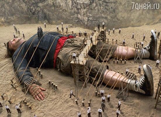 Кадр фильма «Путешествия Гулливера»
