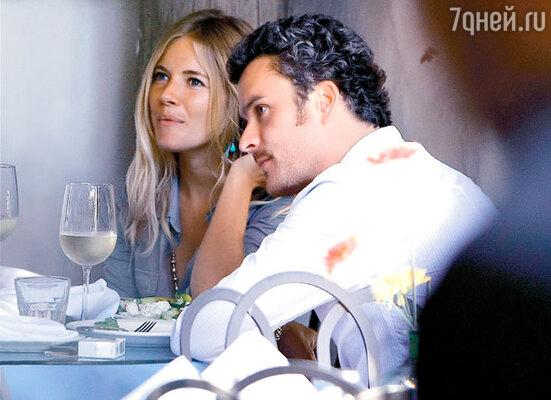 С Бальтазаром Гетти в Италии. Август 2008 г.