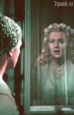 Николай Досенко и Татьяна Конюхова в фильме «Майская ночь, или утопленница», 1952 год