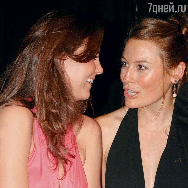 Миддлтон и Крэйг на благотворительном мероприятии. 2008 г.