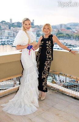 Людмила Максакова с дочерью Марией