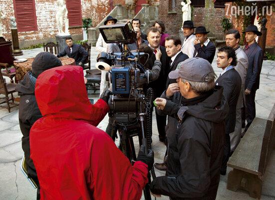 Идут съемки продолжения популярного телефильма «Небесный суд»