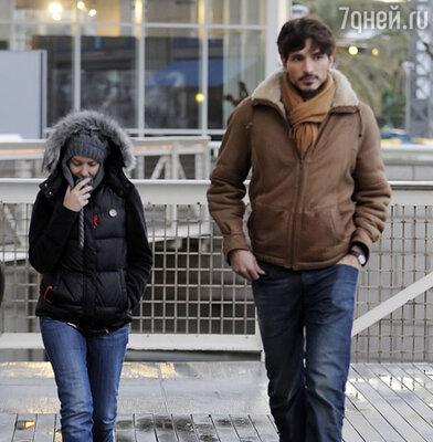 Кайли Миноуг и ее возлюбленный Андрес
