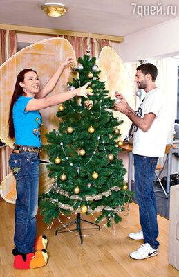 «Как празднуют Новый год в Баку? Режут барана и вызывают Снегурочку в парандже». Таир и Эвелина