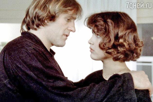 Жерар Депардье и Софи Марсо в фильме «Полиция». 1985 г.