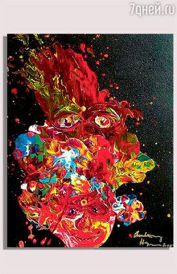 Одна из работ Хопкинса-художника