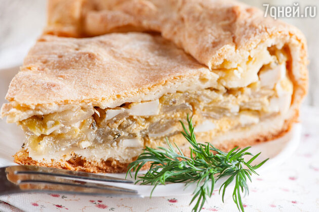 Новогодний пирог по-польски