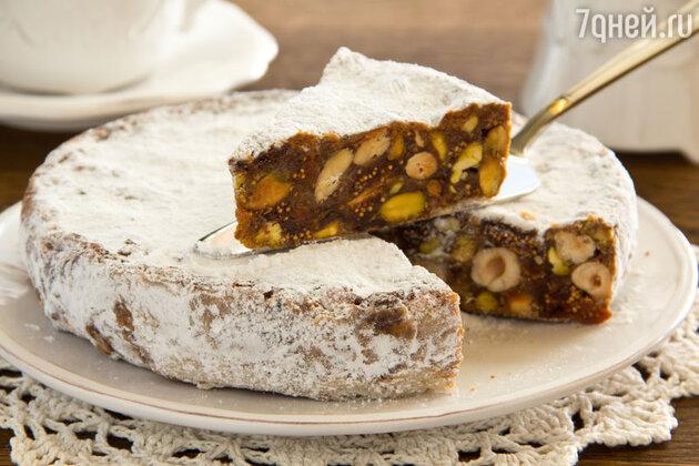 Новогодний торт по-итальянски