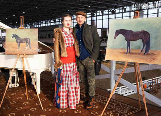 Митя Фомин и Антонина Шаповалова