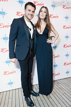 Эмин Агаларов и Кети Топурия