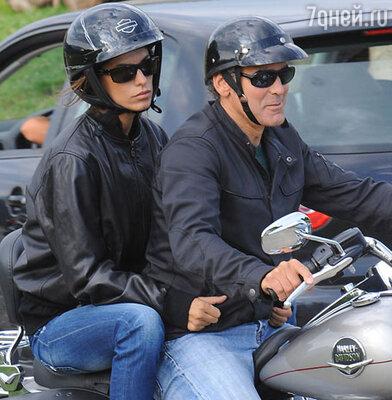 Джордж Клуни и Элизабет Каналис