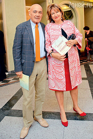 Владимир Познер с женой Надеждой Соловьевой