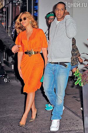 Бейонсе с супругом Джей-Зи
