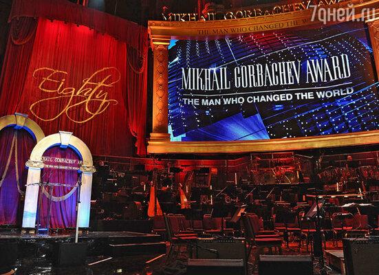Празднование 80-летия Михаила Горбачёва в зале «Royal Albert Hall», Лондон