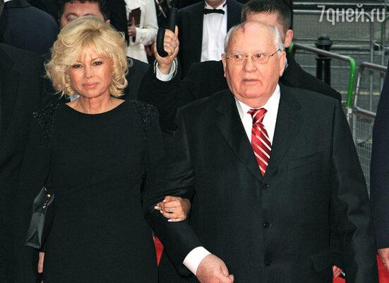 Михаил Горбачёв с дочерью Ириной Вирганской