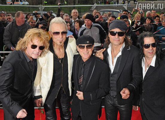 Группа «The Scorpions»