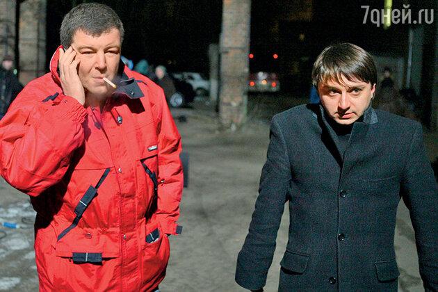 Александр Робак  с Максимом Лагашкиным