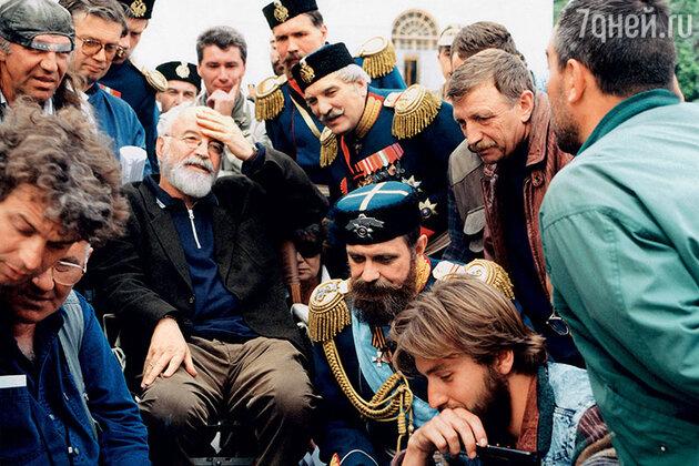 Ираклий Квирикадзе, Никита Михалков и Алексей Петренко