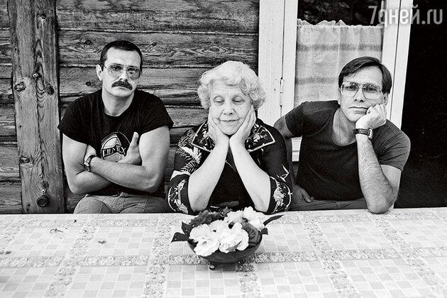 Никита Михалков, Наталья Кончаловская и Андрон Кончаловский