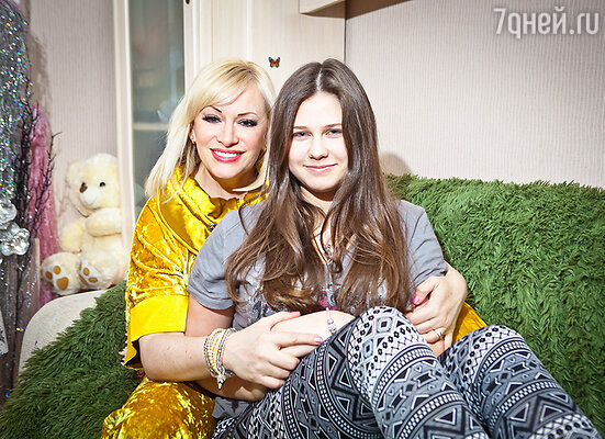 Наталия Гулькина с дочерью Яной