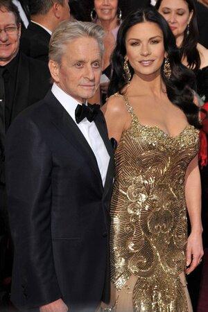 Майкл Дуглас и Кэтрин Зета-Джонс, церемония Оскар, 2013 год