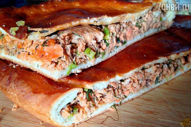 Пирог по-бургундски