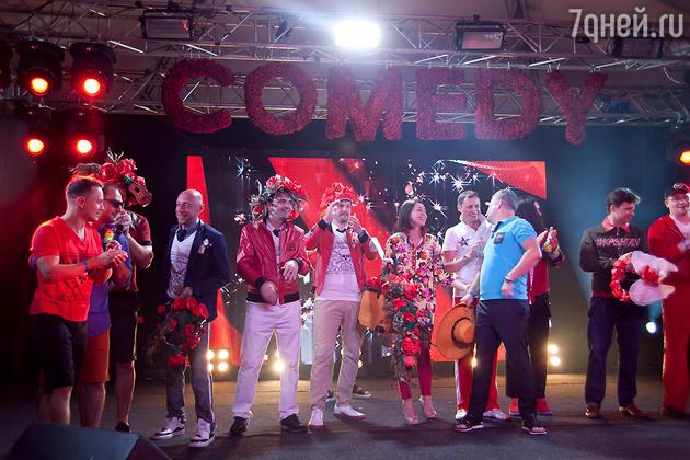 Резиденты Comedy Club на открытие «Недели высокого юмора» в Сочи