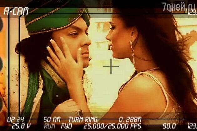 Филипп Киркоров и Ани Лорак в клипе на песню «Иллюзия»