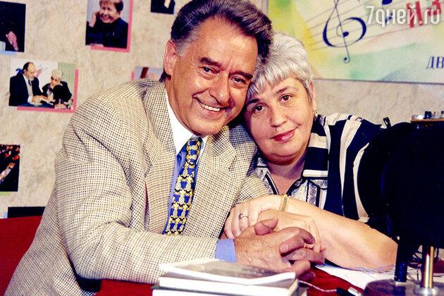 Диана Берлин с Андреем Дементьевым на «Радио-1»