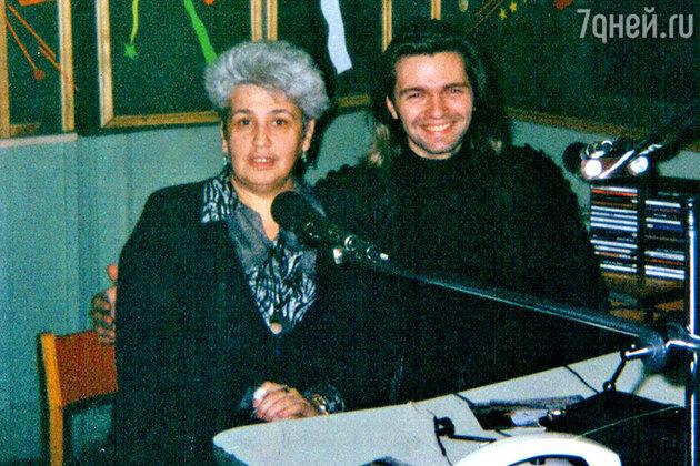 Диана Берлин с Дмитрием Маликовым