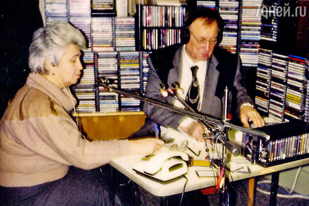Диана Берлин с Евгением Евтушенко