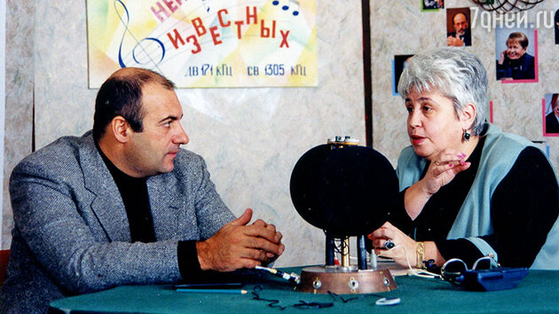 Диана Берлин с Диана Берлин с Игорем Крутым на «Радио-1»