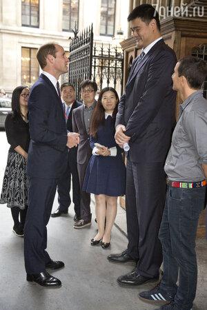 Принц Уильям и Йяо Минг