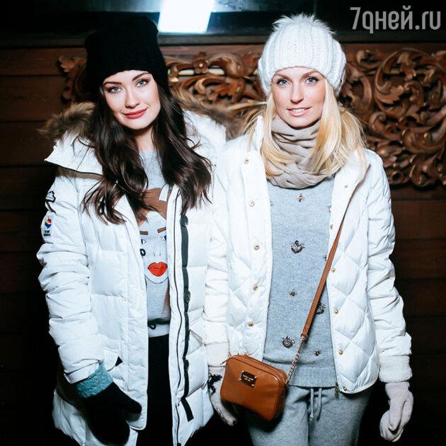 Саша Савельева и Саша Попова