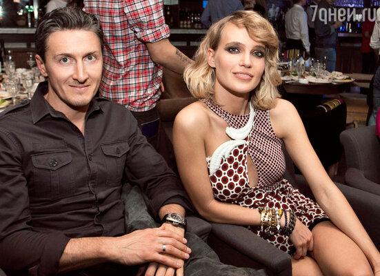 Наталья (Глюк'oZa) с мужем Александром Чистяковым