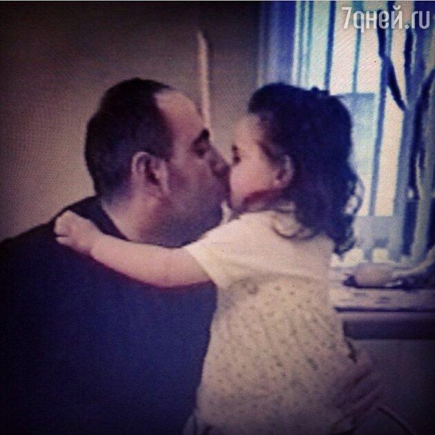 Иосиф Пригожин с дочерью Даной