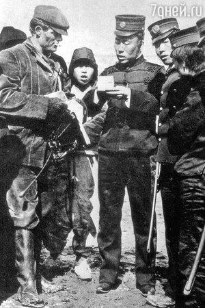 Джека арестовывают на Русско-японской войне. 1904 г.
