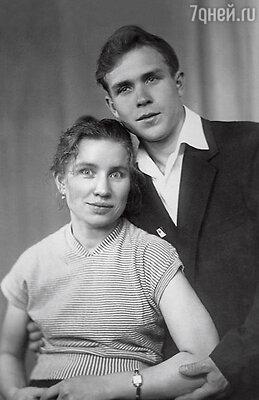 Родители Розы Луиза и Раиф Сябитовы. 1959 г.