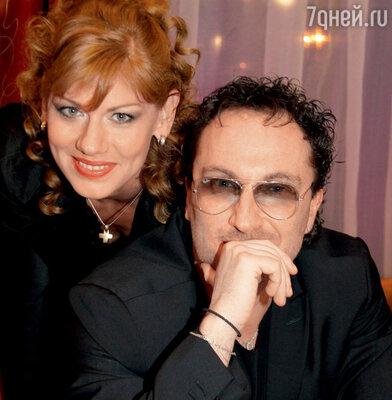 Дмитрий Нагиев и Елена Бирюкова