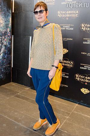Ирина Хакамада на премьере фильма «Красавица и чудовище»