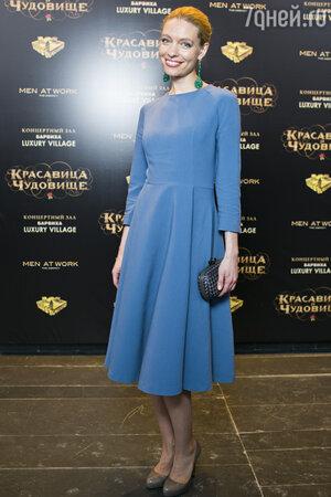 Антонина Клименко на премьере фильма «Красавица и чудовище»